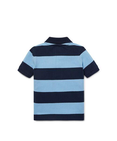 POLO RALPH LAUREN / ポロ ラルフ ローレン ポロシャツ | (ベビー)ストライプド コットン メッシュ ポロシャツ | 詳細2