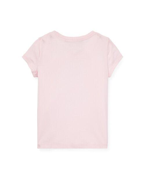 POLO RALPH LAUREN / ポロ ラルフ ローレン Tシャツ | (ガールズ 2才~4才)クリケット ベア コットン Tシャツ | 詳細1