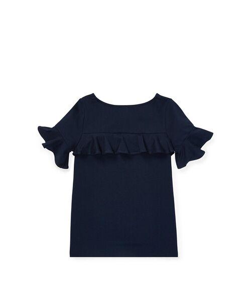 POLO RALPH LAUREN / ポロ ラルフ ローレン Tシャツ | (ガールズ 2才~4才)ラッフルド ヨーク トップ | 詳細1