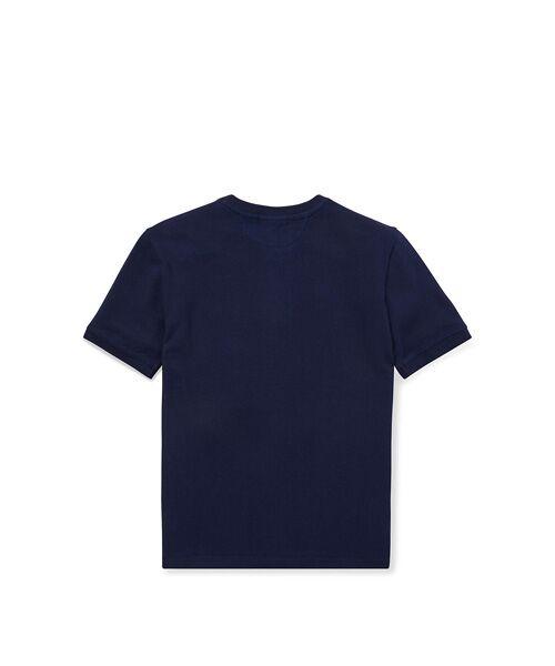 POLO RALPH LAUREN / ポロ ラルフ ローレン Tシャツ | (ボーイズ 8才~20才)コットン メッシュ ヘンリーネック シャツ | 詳細2