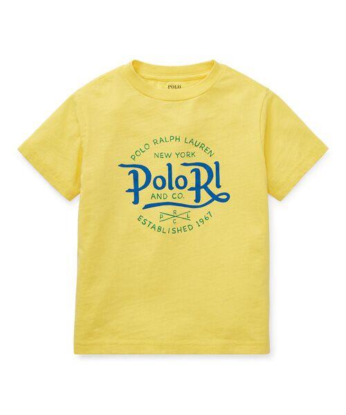 POLO RALPH LAUREN / ポロ ラルフ ローレン Tシャツ | (ボーイズ 2才~4才)コットン ジャージー グラフィック Tシャツ(E95イエロー)