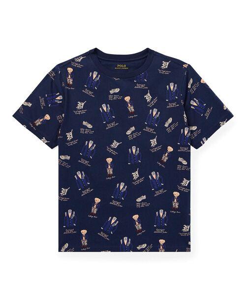 POLO RALPH LAUREN / ポロ ラルフ ローレン Tシャツ | (ボーイズ 8才~20才)コットン ジャージー グラフィック Tシャツ(B90ネイビー)