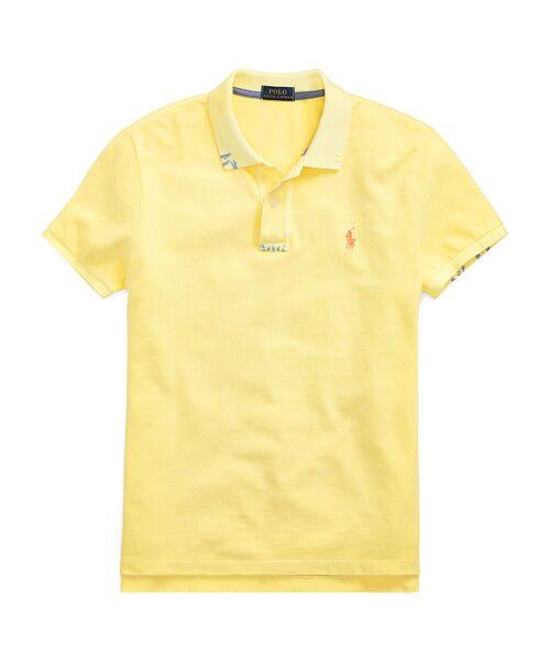 POLO RALPH LAUREN / ポロ ラルフ ローレン ポロシャツ | クラシックフィット コットン ポロシャツ(E95イエロー)