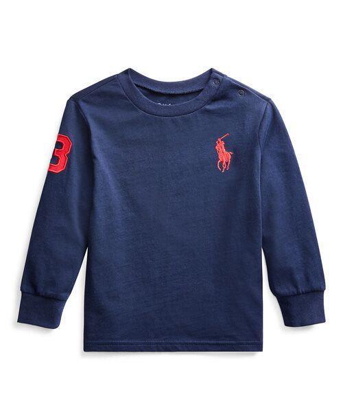 POLO RALPH LAUREN / ポロ ラルフ ローレン カットソー   コットン ジャージー Tシャツ(B82ネイビー)