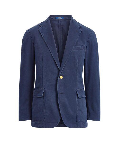 POLO RALPH LAUREN / ポロ ラルフ ローレン テーラードジャケット | Polo アンコンストラクテッド スポーツコート(B82ネイビー)