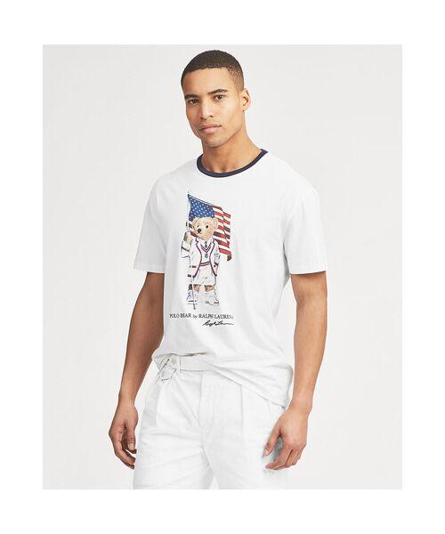 POLO RALPH LAUREN / ポロ ラルフ ローレン Tシャツ | カスタム スリムフィット Polo ベア Tシャツ | 詳細4