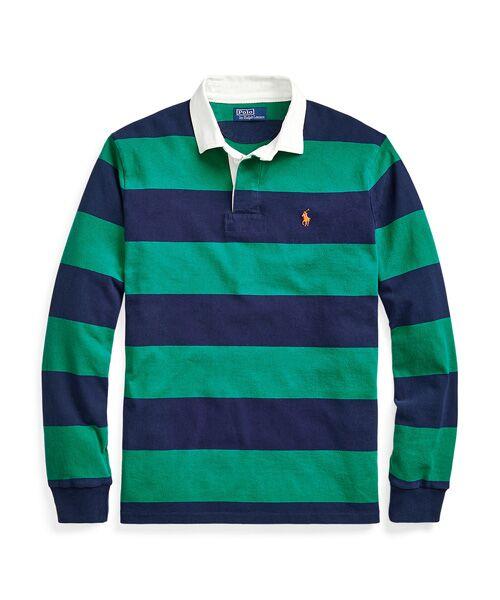 POLO RALPH LAUREN / ポロ ラルフ ローレン Tシャツ | アイコニック ラグビー シャツ(300グリーン)