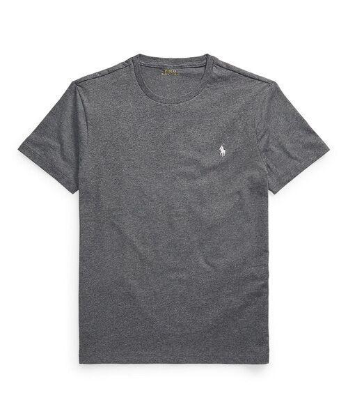 POLO RALPH LAUREN / ポロ ラルフ ローレン Tシャツ   カスタム スリム クルーネック T シャツ(020グレー)