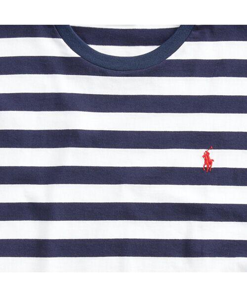 POLO RALPH LAUREN / ポロ ラルフ ローレン Tシャツ   カスタム スリム ストライプド Tシャツ   詳細5