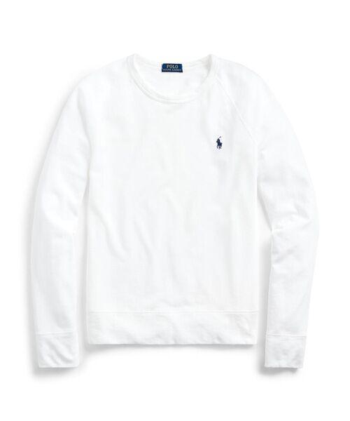 POLO RALPH LAUREN / ポロ ラルフ ローレン スウェット | コットン スパ テリー スウェットシャツ(100ホワイト)