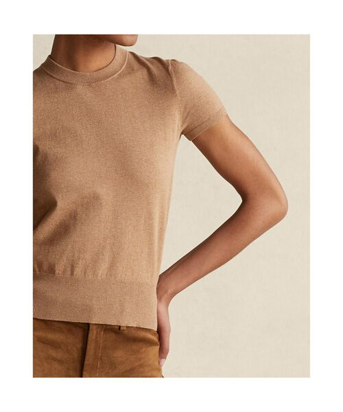 POLO RALPH LAUREN / ポロ ラルフ ローレン ニット・セーター | コットン ショートスリーブ セーター | 詳細3