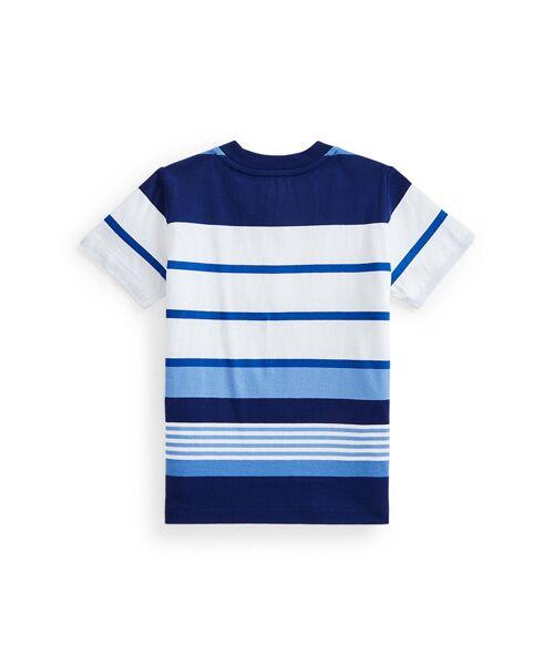 POLO RALPH LAUREN / ポロ ラルフ ローレン Tシャツ | (ボーイズ 5才~7才)ストライプド コットン ジャージー ポケット Tシャツ | 詳細1