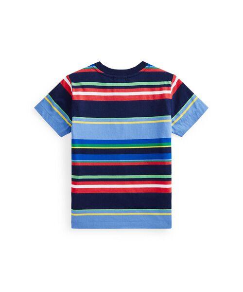 POLO RALPH LAUREN / ポロ ラルフ ローレン Tシャツ | (ボーイズ 2才~4才)ストライプド コットン ジャージー ポケット Tシャツ | 詳細1