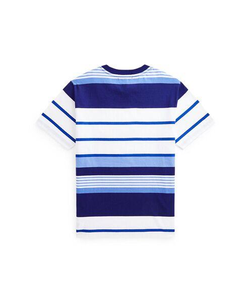 POLO RALPH LAUREN / ポロ ラルフ ローレン Tシャツ | (ボーイズ 8才~20才)ストライプド コットン ジャージー ポケット Tシャツ | 詳細1