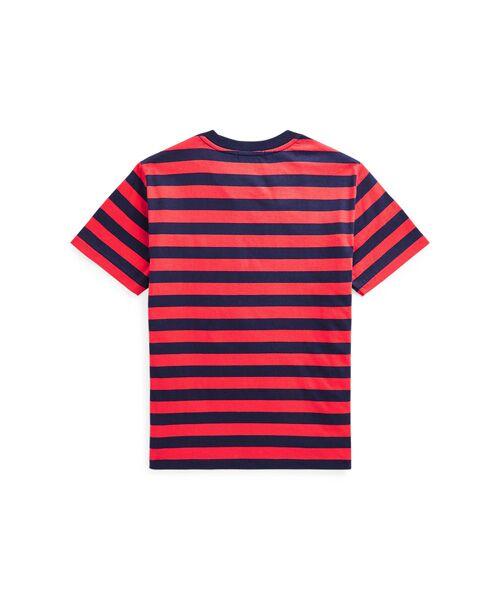 POLO RALPH LAUREN / ポロ ラルフ ローレン Tシャツ   (ボーイズ 8才~20才)ストライプド コットン ジャージー Tシャツ   詳細1