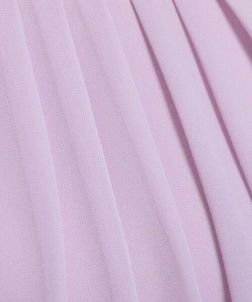 Reflect / リフレクト シャツ・ブラウス | 【UVカット】【接触冷感】タックシフォンブラウス | 詳細8