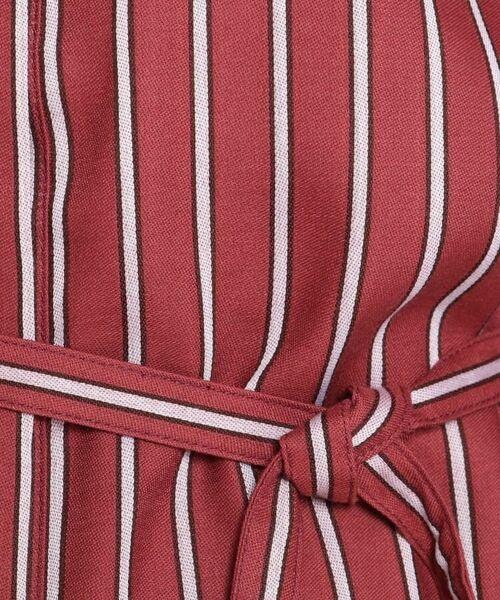 Reflect / リフレクト その他トップス | 【洗える】ベルト付きストライプシャツ | 詳細2