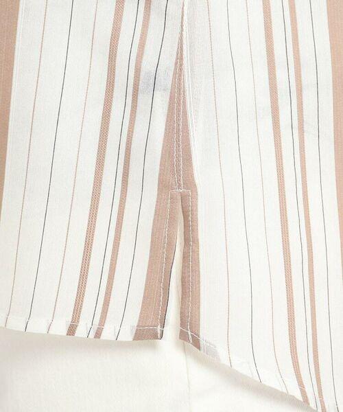 Reflect / リフレクト シャツ・ブラウス   【WEB限定カラーあり】シアーストライプブラウス   詳細12