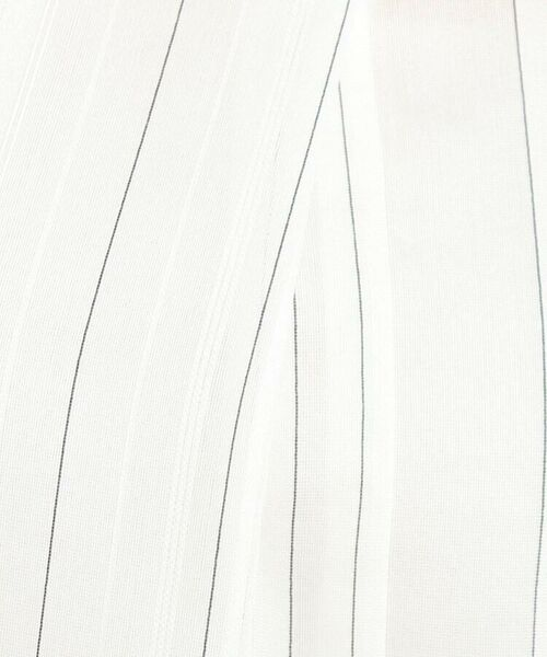 Reflect / リフレクト シャツ・ブラウス   【WEB限定カラーあり】シアーストライプブラウス   詳細15