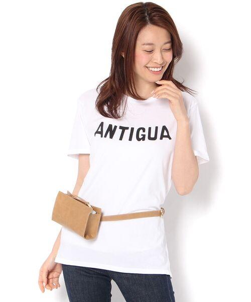 RIVE DROITE / リヴドロワ カットソー | 【RXMANCE(ロマンス)】AntiguaTシャツ(ホワイト)