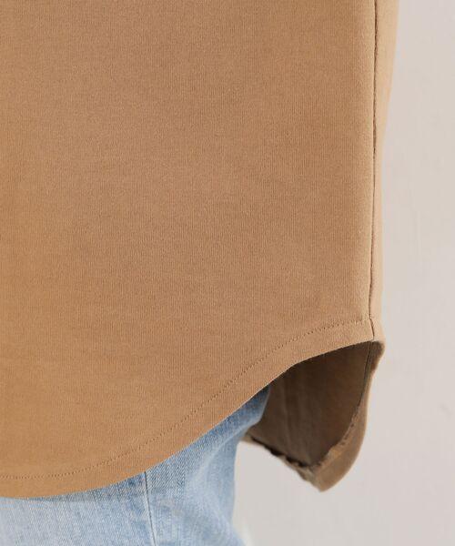 RIVE DROITE / リヴドロワ カットソー | 【完売商品予約追加!・手洗い可】BIGLOGOワイドチュニックTシャツ | 詳細15