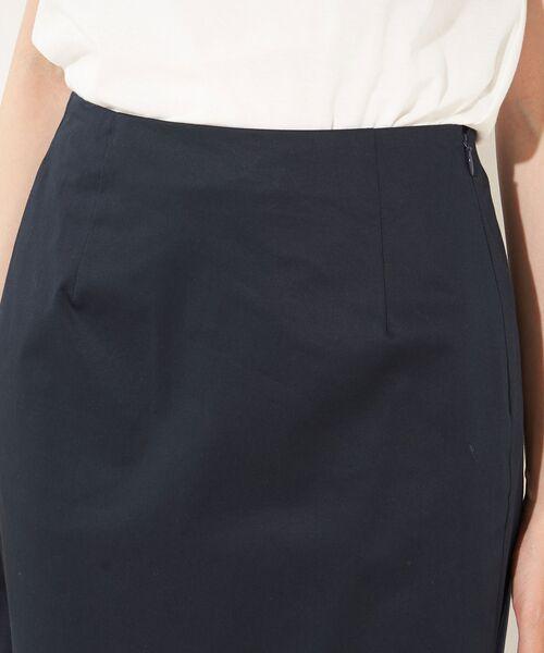 RIVE DROITE / リヴドロワ ロング・マキシ丈スカート   サテンストレッチタイトスカート   詳細14