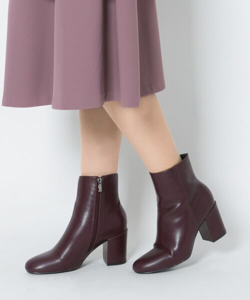 RODE SKO / ロデスコ ブーツ(ショート丈) | ARIADNA プレーンアンクルブーツ(BURGUNDY)