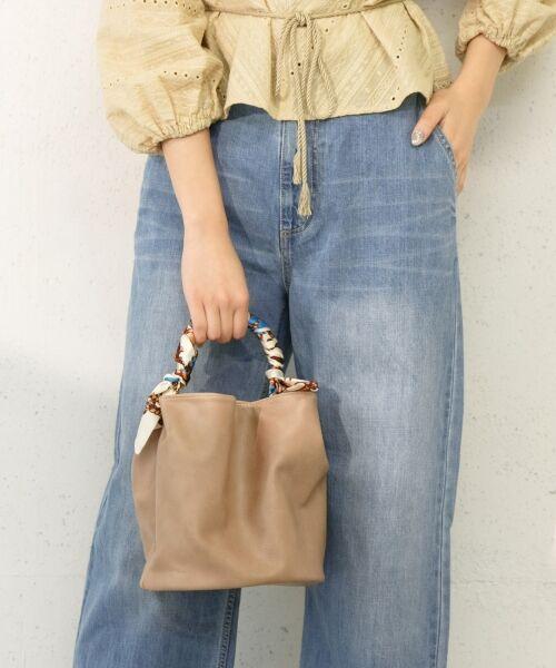 ◆予約◆スカーフがアクセント!春を彩るバッグ2型予約スタート。
