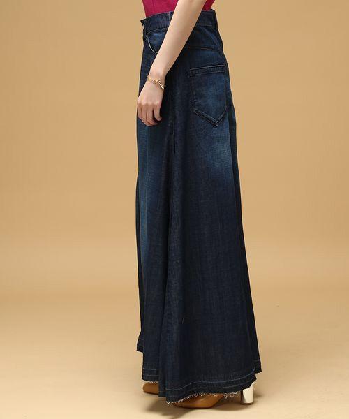 ROPE' / ロペ デニムスカート | 【woad blue別注】デニムマキシスカート | 詳細1