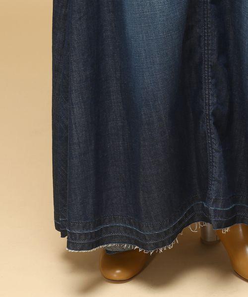 ROPE' / ロペ デニムスカート | 【woad blue別注】デニムマキシスカート | 詳細6