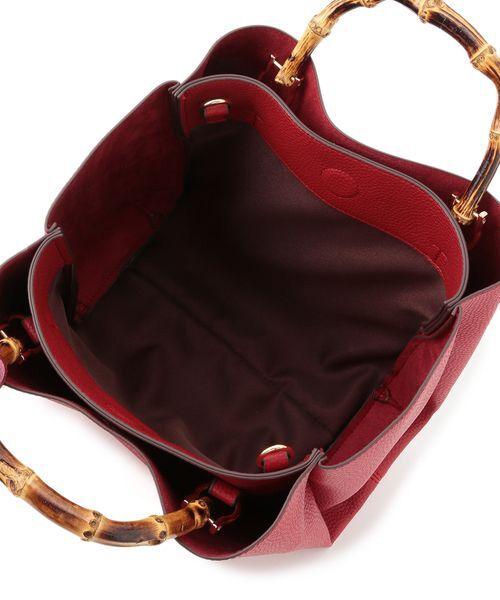 ROPE' / ロペ ハンドバッグ | A4バンブーハンドルバッグ | 詳細5