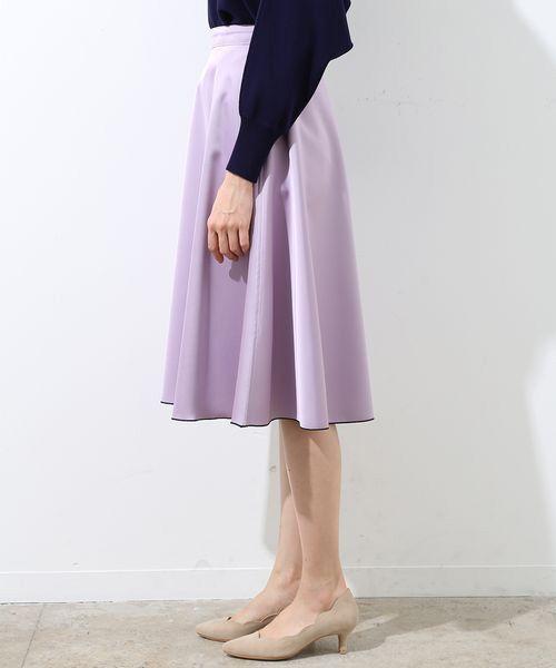 ROPE' / ロペ スカート | 【2WAY】リバーシブルフレアースカート | 詳細1