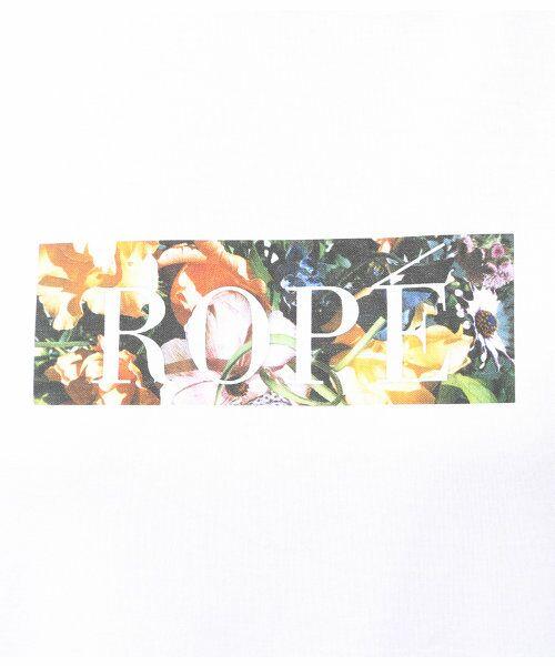 ROPE' / ロペ カットソー | 【edenworks×ROPE'】プリントチュニック | 詳細9