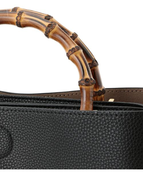 ROPE' / ロペ トートバッグ | 【一部予約】【WEB限定】【A4サイズ対応】【新色追加】バンブーハンドルバッグ(L) | 詳細10