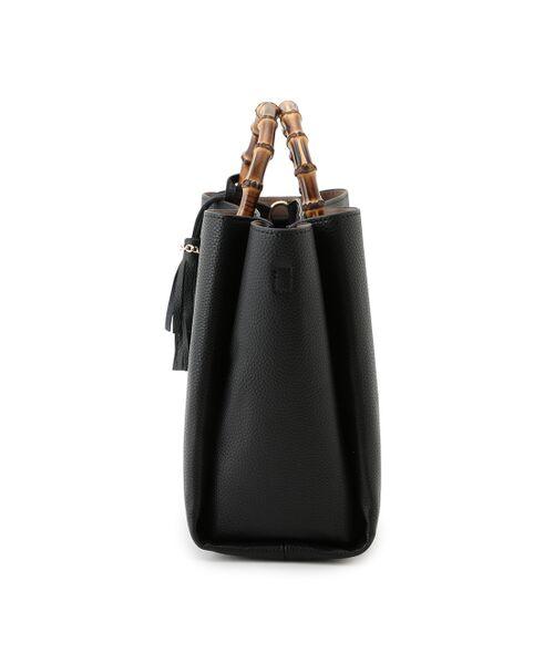 ROPE' / ロペ トートバッグ | 【一部予約】【WEB限定】【A4サイズ対応】【新色追加】バンブーハンドルバッグ(L) | 詳細7