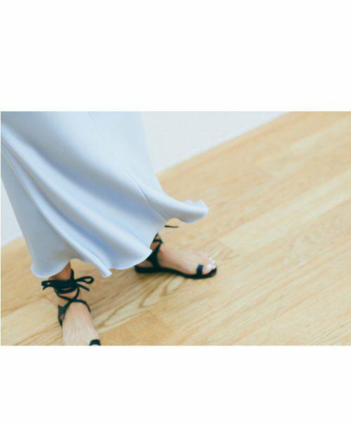 ROPE' / ロペ スカート | 【ロペ マドモアゼル×AYA KANEKO】サテンマーメイドスカート | 詳細1