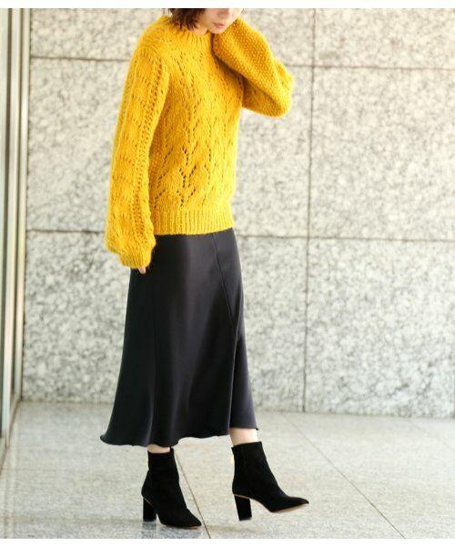 ROPE' / ロペ スカート | 【ロペ マドモアゼル×AYA KANEKO】サテンマーメイドスカート | 詳細17