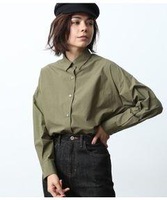 <b>ベーシックなシャツがキャミソールデザインに変わる万能な2WAYアイテム!</b></br></br>ハリ感のあるタイプライター素材を使用したシャツ。<br>一見シンプルなシャツに見えますが、キャミソールタイプのブラウスにもなる2WAYデザイン。<br>キャミソールとして着用するときはシャツの袖をウエストで結べば全く違った印象になります。<br>長めの着丈はさらっと着て抜け感をプラス。デニムパンツなどと合わせてラフなスタイルもサマになります。<br>その日の気分で着こなしを楽しめる、万能アイテムです。<br><br>ROPE'の商品は、ROPE'実店舗のみの取り扱いになります。<br>また、ROPE' mademoiselle の商品は、ROPE' mademoiselle実店舗のみの取り扱いになります。</br></br>手洗い・漂白、タンブル乾燥禁止
