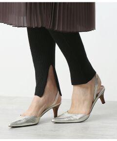 <b>女性らしく大人のこなれ感を叶えるレギンス。<br></b></br></br>今シーズンのマストバイのニットレギンス。<br>縦、横に伸縮する履き心地の良いワッフル素材を使用。<br>ワッフル生地で通気性が良く、さらりとした肌触りで履き心地も◎<br><br>ウエストはゴムと紐で調節もでき、心地よいフィット感となっています。<br>ロング丈のシャツやスカート、ワンピースに合わせて旬な着こなしを楽しんで。<br><br>※画像の商品はサンプルです。<br> 実際の商品と仕様、加工、サイズが若干異なる場合がございます。<br><br>ROPE'の商品は、ROPE'実店舗のみの取り扱いになります。<br>また、ROPE' mademoiselle の商品は、ROPE' mademoiselle実店舗のみの取り扱いになります。<br></br></br>手洗い・漂白、タンブル乾燥禁止