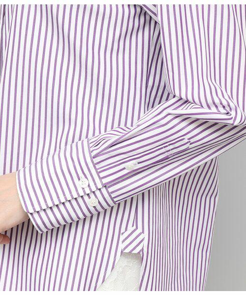 ROPE' / ロペ シャツ・ブラウス | 【THOMAS MASON】【2WAY】レギュラーシャツ | 詳細8