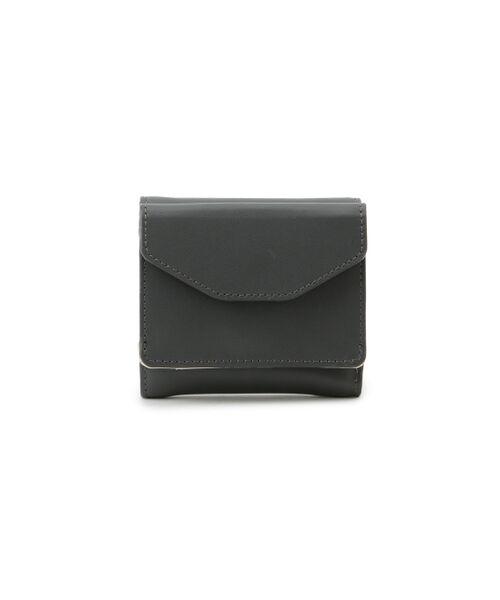 ROPE' / ロペ 財布・コインケース・マネークリップ | レザーミニ財布(チャコール(06))