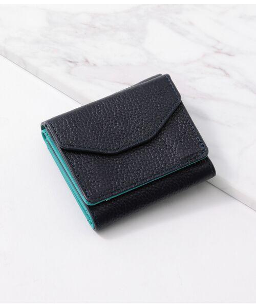 ROPE' / ロペ 財布・コインケース・マネークリップ | レザーミニ財布(ネイビー(40))