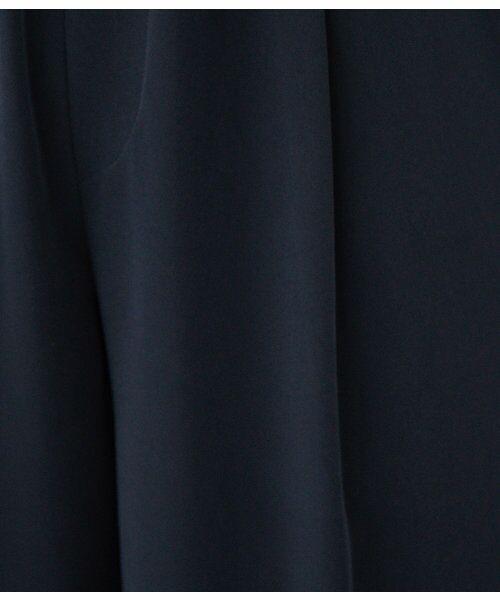 ROPE' / ロペ サロペット・オールインワン | 【WEB限定】【結婚式にも】ストレッチポンチボウタイセットアップ | 詳細15