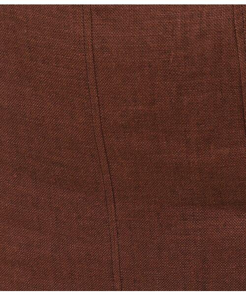ROPE' / ロペ スカート | 【一部予約】リネンスリットタイトスカート | 詳細9