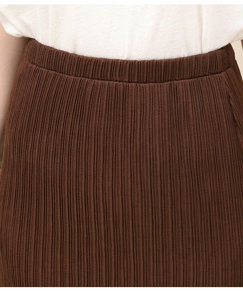 ROPE' / ロペ スカート | シアープリーツタイトスカート | 詳細5