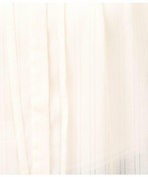 ROPE' / ロペ シャツ・ブラウス | スタンドカラーシアーブラウス | 詳細8