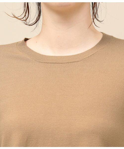 ROPE' / ロペ ニット・セーター | シフォンレイヤードニットプルオーバー | 詳細6