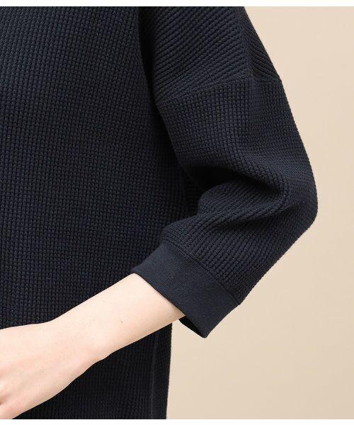 ROPE' / ロペ カットソー | 【予約】ワッフル6分袖プルオーバー | 詳細6