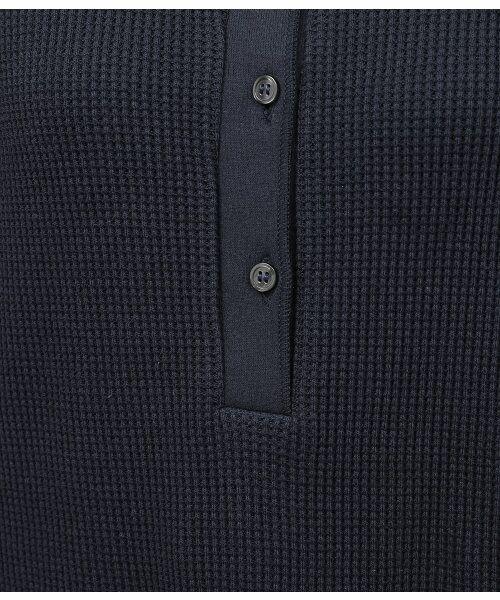 ROPE' / ロペ カットソー | 【予約】ワッフル6分袖プルオーバー | 詳細8