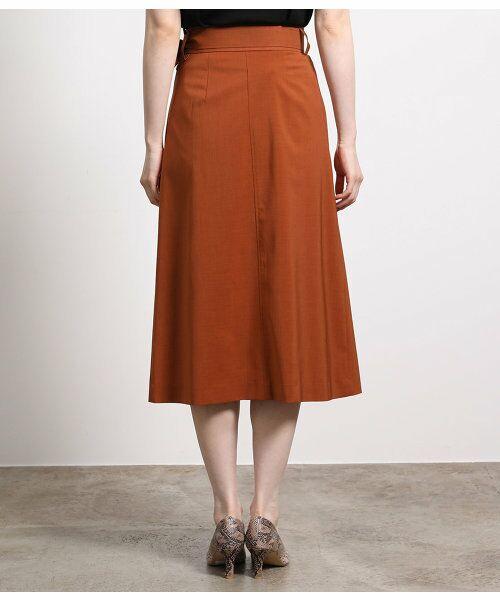 ROPE' / ロペ スカート | ポリキュプラメランジプリーツスカート | 詳細4